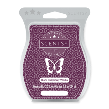 BLACK RASPBERRY VANILLA SCENTSY BAR Scentsy Melts
