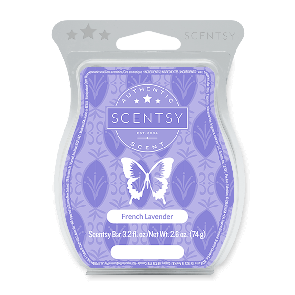FRENCH LAVENDER SCENTSY BAR Scentsy Melts