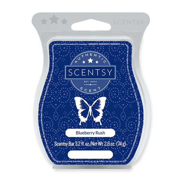 BLUEBERRY RUSH SCENTSY BAR Scentsy Melts