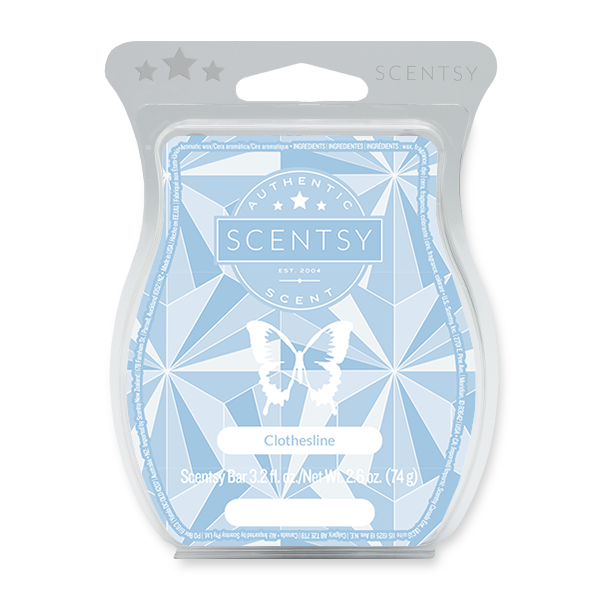 CLOTHESLINE SCENTSY BAR Scentsy Melts