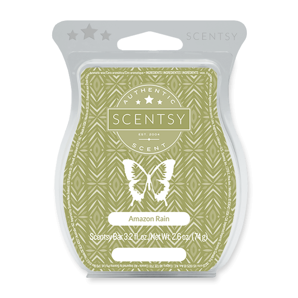 Amazon Rain Scentsy Bar Scentsy Melts