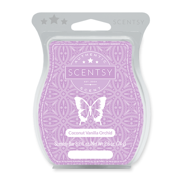 COCONUT VANILLA ORCHID SCENTSY BAR Scentsy Melts
