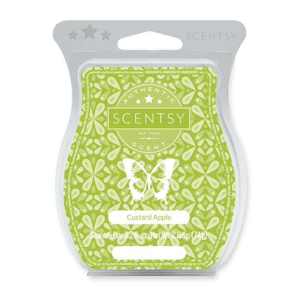 CUSTARD APPLE SCENTSY BAR Scentsy Melts