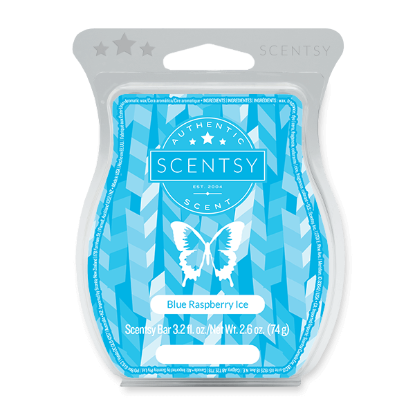 BLUE RASPBERRY ICE SCENTSY BAR Scentsy Melts