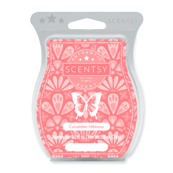 CUCUMBER HIBISCUS SCENTSY BAR Scentsy Melts