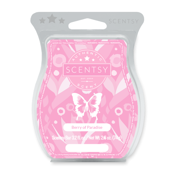 BERRY OF PARADISE SCENTSY BAR Scentsy Melts
