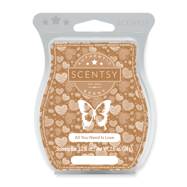 All You Need Is Love Scentsy Bar Scentsy Melts
