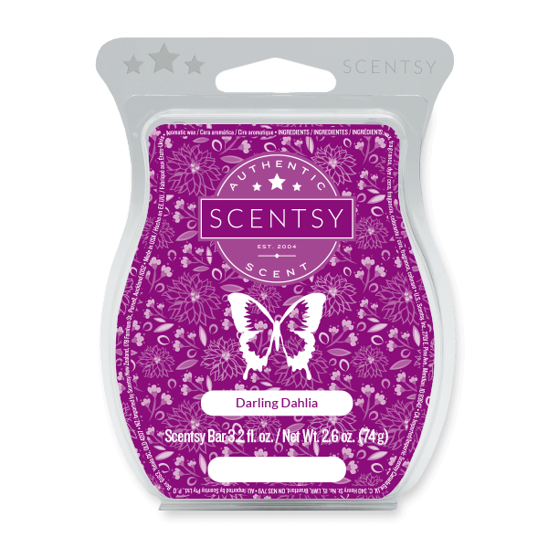 DARLING DAHLIA SCENTSY BAR Scentsy Melts