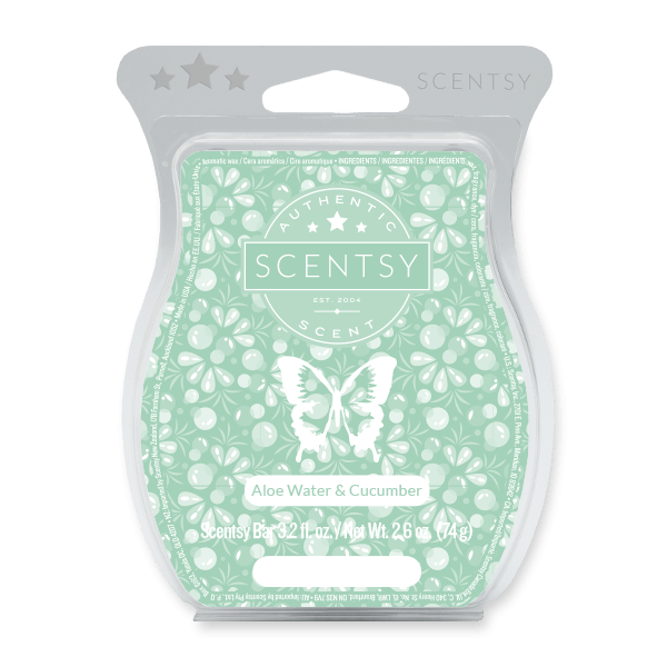 ALOE WATER & CUCUMBER SCENTSY BAR SCENTSY MELTS