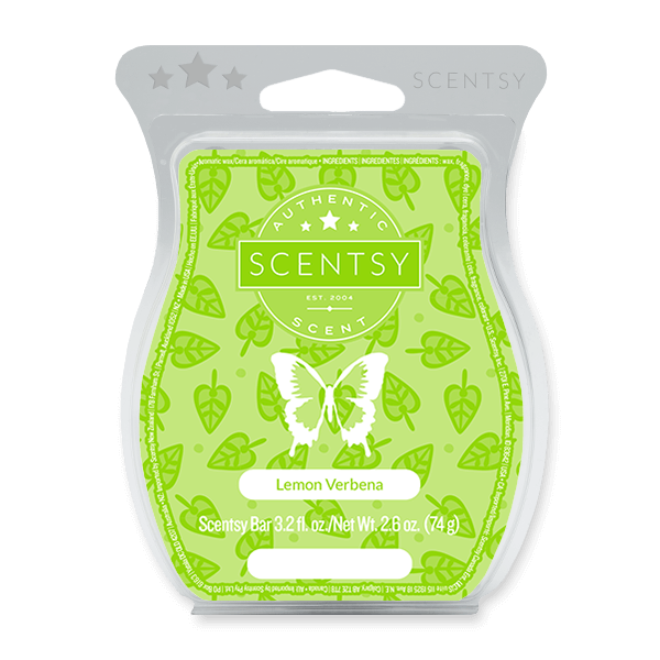 LEMON VERBENA SCENTSY BAR Wax Melts