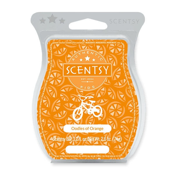 OODLES OF ORANGE SCENTSY BAR Scentsy Melts
