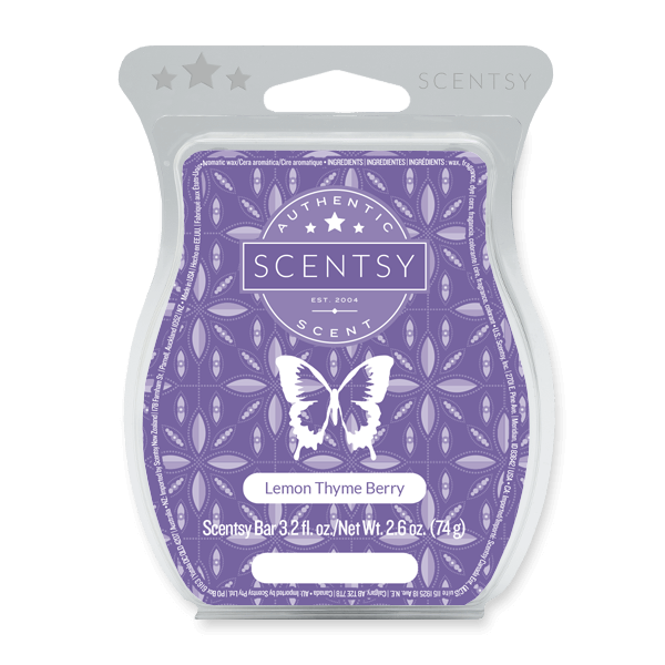LEMON THYME BERRY SCENTSY BAR Wax Melts
