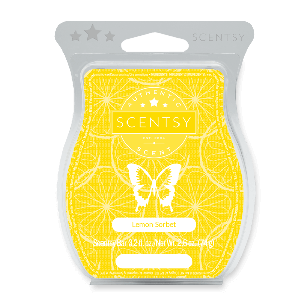 LEMON SORBET SCENTSY BAR Wax Melts