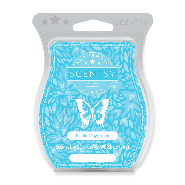 PACIFIC DAYDREAM SCENTSY BAR Scentsy Melts
