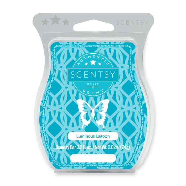 LUMINOUS LAGOON SCENTSY BAR Scentsy Melts