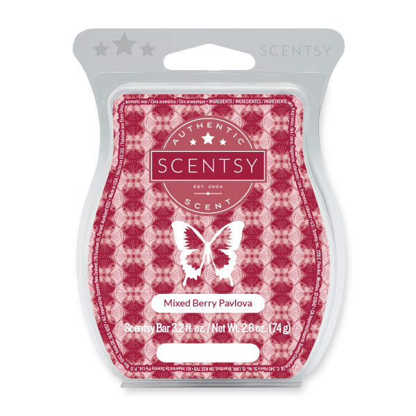 MIXED BERRY PAVLOVA SCENTSY BAR Wax Melts