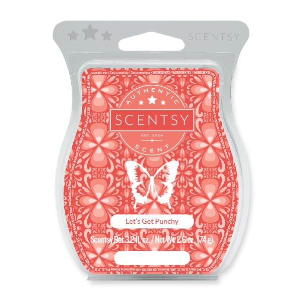 LET'S GET PUNCHY SCENTSY BAR Scentsy Melts