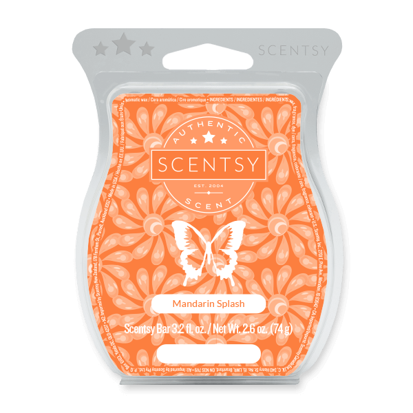 MANDARIN SPLASH SCENTSY BAR Wax Melts