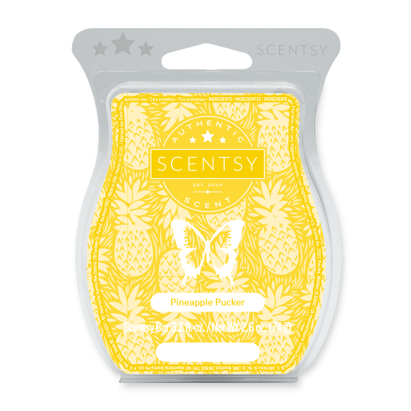 PINEAPPLE PUCKER SCENTSY BAR Scentsy Melts