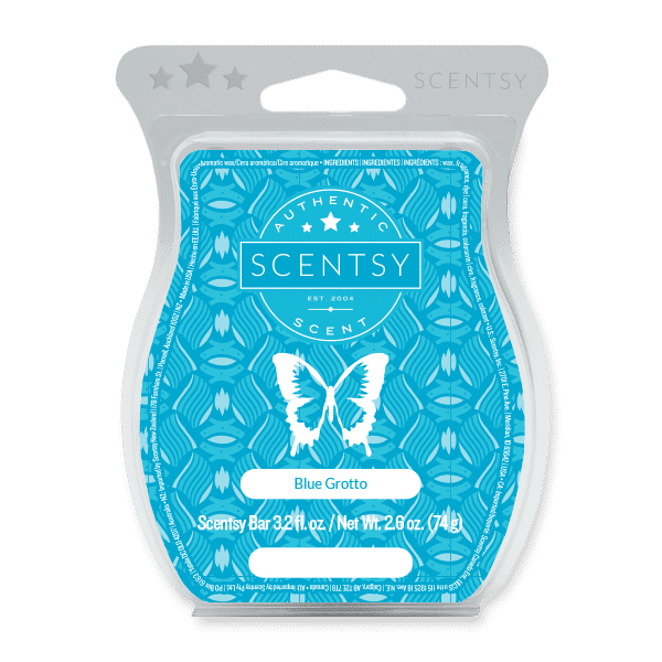 Blue Grotto Scentsy Bar Scentsy Wax Melts