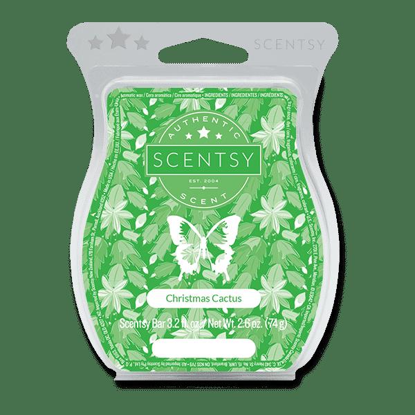 Christmas Cactus Scentsy Bar Scentsy Wax Melts
