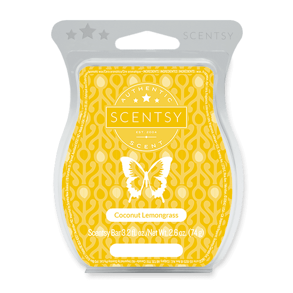 Coconut Lemongrass Scentsy Bar Scentsy Wax Melts