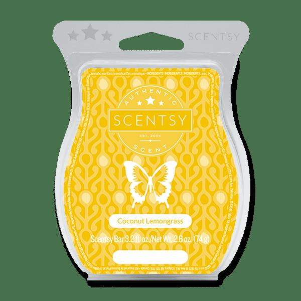 Coconut Lemongrass Scentsy Bar Scentsy Wax Melts