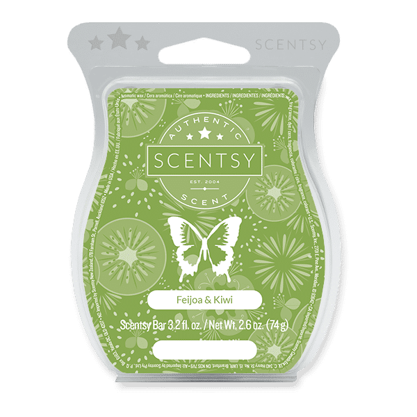 Feijoa & Kiwi Scentsy Bar Scentsy Wax Melts