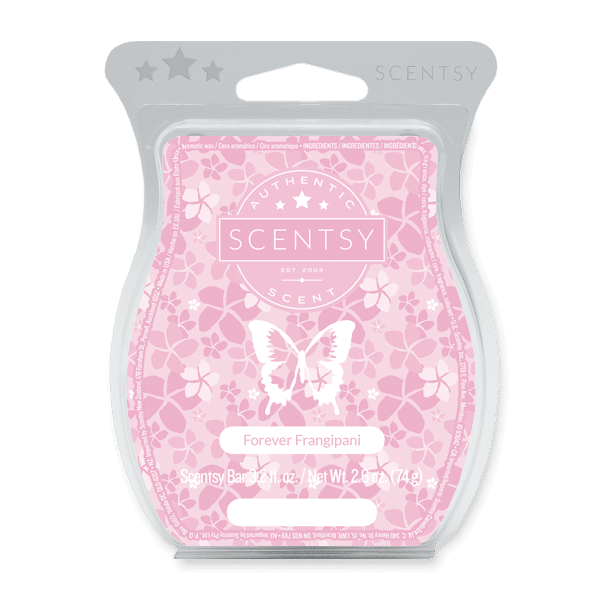 Forever Frangipani Scentsy Bar Scentsy Wax Melts