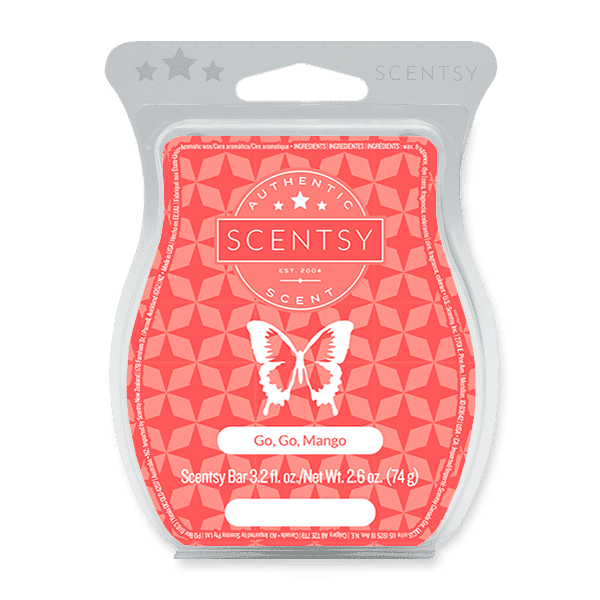 Go, Go, Mango Scentsy Bar Scentsy Wax Melts