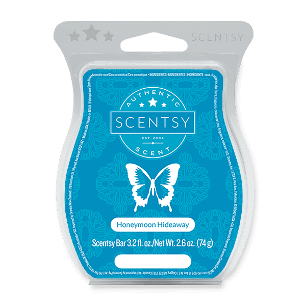 Honeymoon Hideaway Scentsy Bar Scentsy Wax Melts