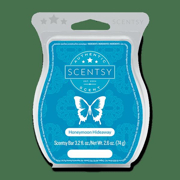 Honeymoon Hideaway Scentsy Bar Scentsy Wax Melts