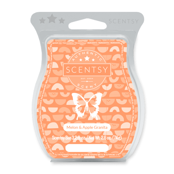 Melon & Apple Granita Scentsy Bar Scentsy Wax Melts