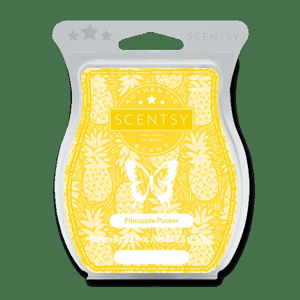 Pineapple Pucker Scentsy Bar Scentsy Wax Melts