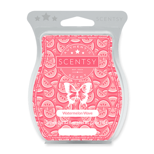 Watermelon Wave Scentsy Bar Scentsy Wax Melts